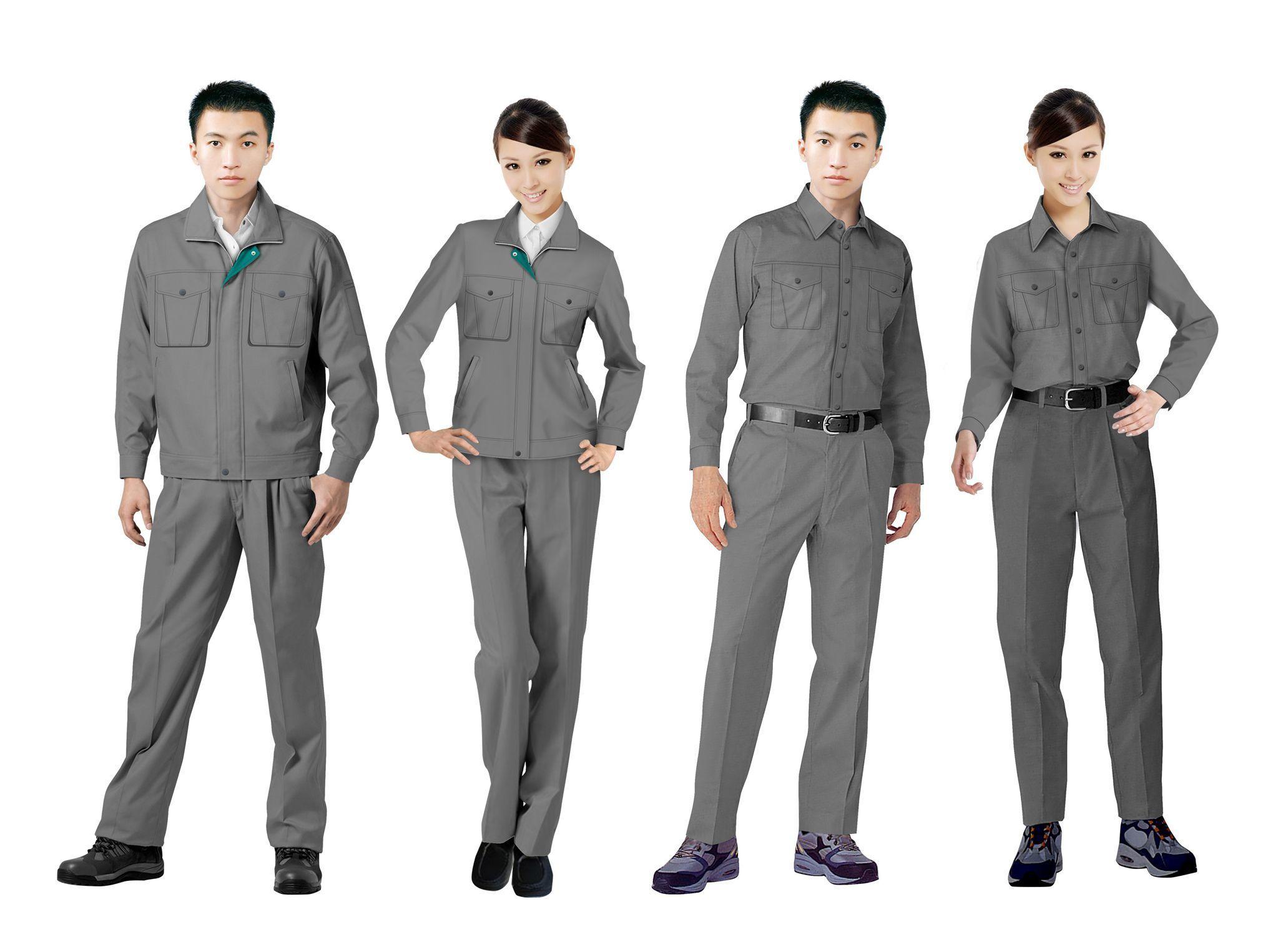 工作服设计图系列方案02