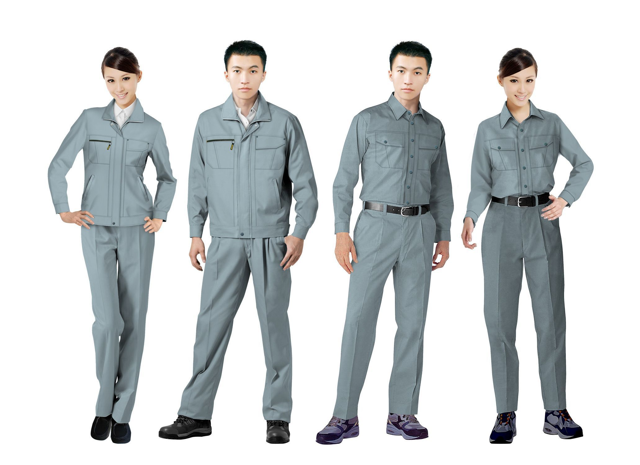 工作服设计图系列方案10